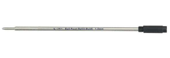 ball pen refill 1 pack (10 pcs) 116mm - German tip, German black ink